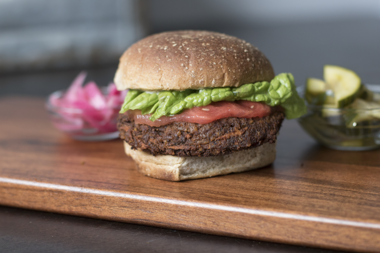 Berbere Style Veggie Burger